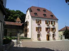 Maison Lourdel, actuel Hôtel de ville - Deutsch:   Delle_Maison_Feltin (heute Rathaus)