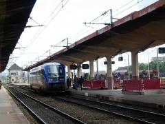 Gare de Belfort -  Autorail X 73500, gare de Belfort/Belfort station, France
