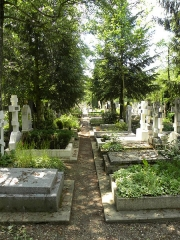 Cimetière de Liers - English: View of the Russian Cemetery in SGdB