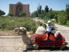 Maison et atelier du sculpteur Joseph Bernard -  Camel Jockey at the Site of the Mausoleum of Khoja Ahmed Yasawi