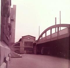 Ancienne Ecole Supérieure d'Électricité, actuelle Faculté de droit de l'Université René-Descartes - Paris V - English: Entrance of Supélec in the 1970s. Malakoff (Hauts-de-Seine, France).