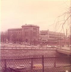 Ancienne Ecole Supérieure d'Électricité, actuelle Faculté de droit de l'Université René-Descartes - Paris V - English: Overview of Supélec in the 1970s. Malakoff (Hauts-de-Seine, France).