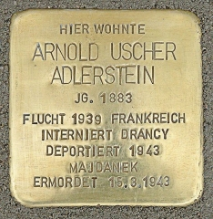 Camp de Drancy, puis Cité de la Muette - Deutsch: Arnold Uscher Adlerstein
