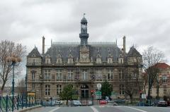 Hôtel de ville - English: Town hall of Pantin (Seine-Saint-Denis, France).
