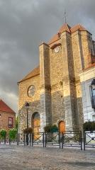 Eglise Saint-Nicolas - English: Saint-Nicolas Church of La Queue-en-Brie, France
