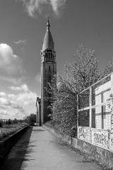 Eglise du Sacré-Coeur, ancienne chapelle de la cité universitaire -  Église du Sacré-Coeur de Gentilly, Paris.
