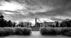 Eglise du Sacré-Coeur, ancienne chapelle de la cité universitaire -  Eglise du sacré coeur vu de la cité U, Paris.