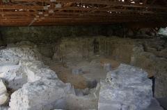 Ancienne abbaye Notre-Dame d'Argenteuil - Deutsch: Ausgrabungen der ehemaligen Benediktinerinnenabtei Notre-Dame in Argenteuil im Département Val-d'Oise (Île-de-France/Frankreich)