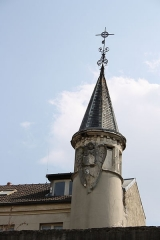 Ancienne abbaye Notre-Dame d'Argenteuil - Deutsch: Ehemalige Benediktinerinnenabtei Notre-Dame in Argenteuil im Département Val-d'Oise (Île-de-France/Frankreich)
