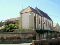 Eglise Saint-Nicolas - Français:   Vue de l\'église depuis le nord-est.