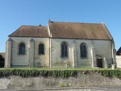 Eglise Saint-Nicolas - Français:   Vue depuis le nord.