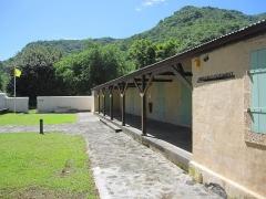 Lazarets de La Grande Chaloupe - English:   Nursery and pavilion of isolation of the Lazaretto of Grande Chaloupe, Réunion, a former quarentine station