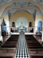 Eglise paroissiale Notre-Dame-des-Neiges - Deutsch: Cilaos, Kircheninnere