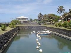 Bassin de radoub, situé dans le port de Saint-Pierre -  Port de Saint Pierre