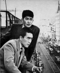 Eglise -  Yukio Mishima and Shintaro Ishihara.
