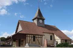 Eglise Saint-Hubert - Français:   Pars-lès-Chavanges, église