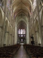 Cathédrale Saint-Pierre Saint-Paul - Nef principale de la cathédrale Saint-Pierre et Saint-Paul de Troyes (10).