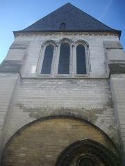 Eglise de la Madeleine et ancien cimetière -  Église de la Madeleine de Troyes (Aube, France), façade sur la rue du Général-de-Gaulle