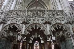 Eglise de la Madeleine et ancien cimetière - Intérieur de l'église de la Madeleine à Troyes (10).