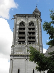 Eglise Saint-Nizier - Français:   Clocher de l\'église Saint-Nizier de Troyes (10).