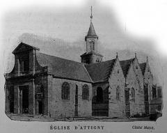 Eglise - Français:   publié dans le \