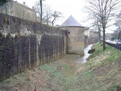 Remparts -  Les fortifications de Mézières Charleville-Mézières Ardennes France