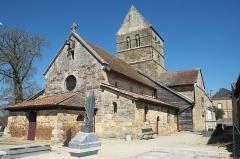 Eglise - Deutsch: Kirche, Église de l'Assomption (Mariä Himmelfahrt), in Blesme im Département Marne (Region Grand Est/Frankreich)