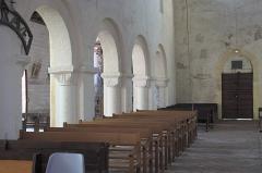 Eglise Saint-Symphorien - Deutsch: Katholische Kirche Saint-Symphorien in Ponthion im Département Marne in der Region Grand Est/Frankreich, Innenraum
