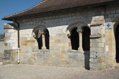 Eglise Saint-Symphorien - Deutsch: Katholische Kirche Saint-Symphorien in Ponthion im Département Marne in der Region Grand Est/Frankreich, Vorhalle
