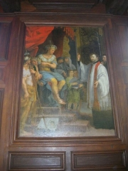 Ancien collège des Jésuites, actuellement Hospice général Museux - Réfectoire de l'ancien collège des Jésuites de Reims (Marne, France)