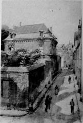 Pavillon de Muire - Français:   sur une vue ancienne.