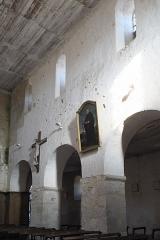 Eglise Saint-Alpin - Deutsch: Katholische Kirche Saint-Alpin in Villevenard im Département Marne in der Region Grand Est/Frankreich, Innenraum