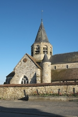 Eglise Saint-Alpin - Deutsch: Katholische Kirche Saint-Alpin in Villevenard im Département Marne in der Region Grand Est/Frankreich