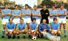 Enceinte protohistorique dite Camp des Louvières -  Perugia (Italy), Santa Giuliana Stadium, August 23, 1970. A line-up of S.S.C. Napoli took to the field in the victorius away friendly match versus A.C. Perugia (0-2).