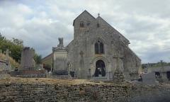 Eglise - Français:   L\'église Saint-Loup de Brainville-sur-Meuse, côté nord-ouest
