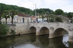 Pont dit le Poncelot - Deutsch: Brücke Le Pontcelot in Joinville