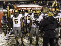 Chapelle Saint-Berchaire -  U.S. Military Academy football players walk out of the locker room after halftime during the Army-Navy football game Dec. 14, 2013, at Lincoln Financial Field in Philadelphia. Navy defeated Army, 34-7. (DoD photo by Staff Sgt. Sean K. Harp, U.S. Army/Released)