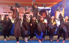 Chapelle Saint-Berchaire - English: Himalayan University had conducted its 2nd Convocation on 21-Feb-2020 at Jollang Campus Itanagar.