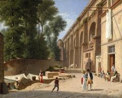Aqueduc gallo-romain (restes) -