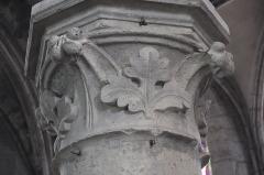 Eglise Saint-Pierre-Saint-Paul - Deutsch: Katholische Kirche Saint-Pierre-Saint-Paul in Chennevières-sur-Marne im Département Val-de-Marne (Île-de-France/Frankreich), Kapitell