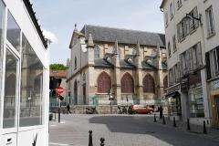Eglise Saint-Germain-l'Auxerrois - English: Fontenay-sous-Bois, Val-de-Marne, France. Église Saint-Germain-l'Auxerrois.