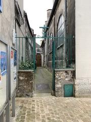 Eglise Saint-Germain-l'Auxerrois - Français:   Portail à l\'extérieur de l\'église Saint-Germain-l\'Auxerrois, Fontenay-sous-Bois.