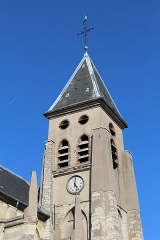 Eglise Saint-Germain-l'Auxerrois - Français:   Église Saint-Germain-l\'Auxerrois de Fontenay-sous-Bois.