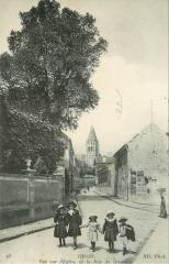 Eglise Saint-Leu-Saint-Gilles - Français:   Thiais.Eglise et rue de Grignon