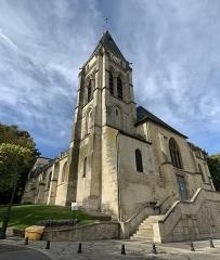 Eglise Saint-Leu-Saint-Gilles - Français:   Église Saint-Leu-Saint-Gilles de Thiais.