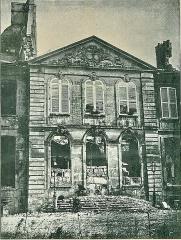 Asile de Drancy -  Le Château de Ladoucette à Drancy (Seine-Saint-Denis, France), après les batailles de la Guerre franco-allemande de 1870