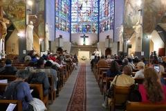 Eglise Notre-Dame-des-Missions - Français:   Départ du pèlerinage de la fête de saint Denis 2019 depuis Epinay-sur-Seine jusqu\'à la basilique cathédrale saint Denis pour les catholiques du diocèse (13 octobre)