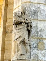 Ermitage de Saint-Clair - Français:   Vierge à l\'Enfant.