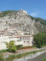 Fortifications et citadelle -  Entrevaux