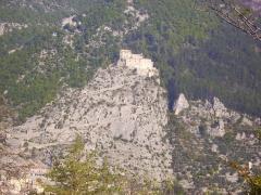 Fortifications et citadelle - Entrevaux entre Puget-Theniers et Annot